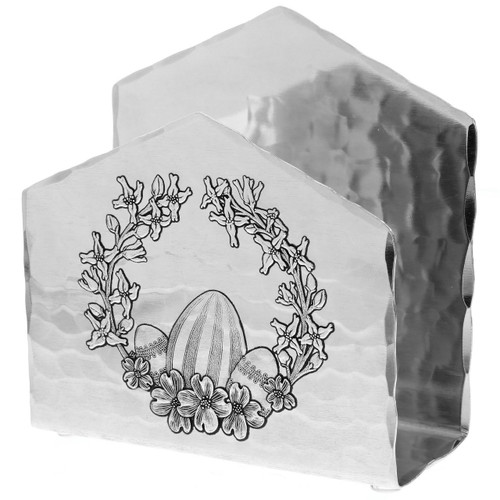 Easter Wreath Napkin Holder
