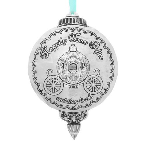 Love is a Fairy Tale Wedding Ornament