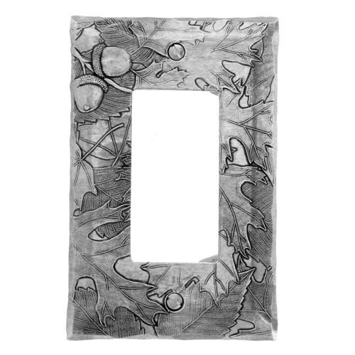 Autumn GFI Cover - Aluminum