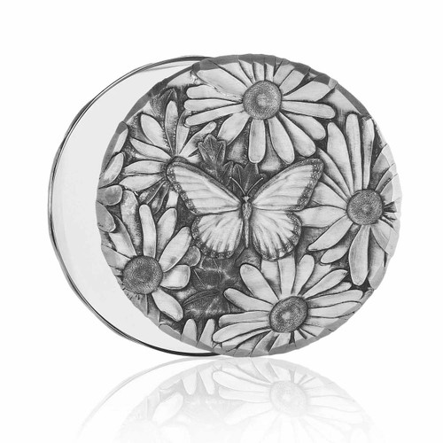 Butterfly Daisy Mirror