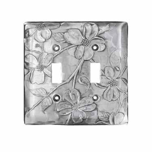 Designer Double Switch Plate Cover Made in America Wendell August