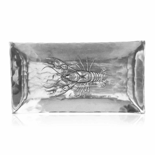 Lobster Design Metal Serving Tray