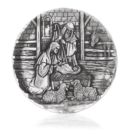 Nativity Scene Coaster
