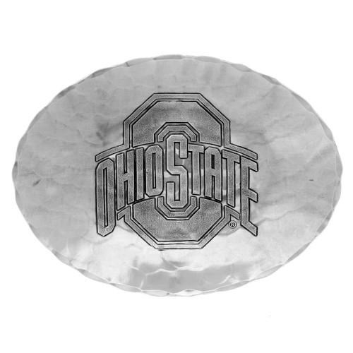 Ohio State University Small Oval Dish