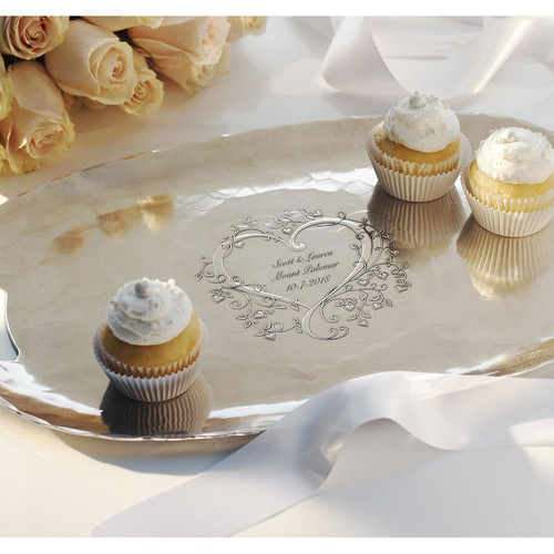 Heart and Vine Signature Luncheon Tray
