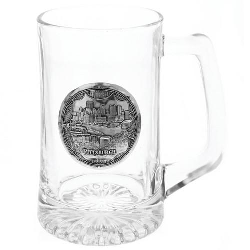 Pittsburgh Bridges Beer Mug