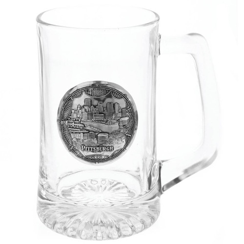 Pittsburgh Bridges Beer Mug