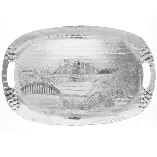 Pittsburgh Skyline Luncheon Serving Tray