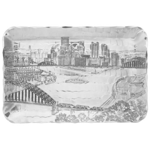 Pittsburgh Skyline Sandwich Tray