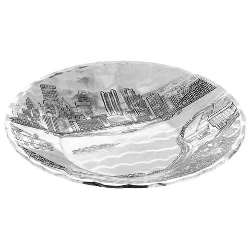 Pittsburgh Skyline Small Round Bowl