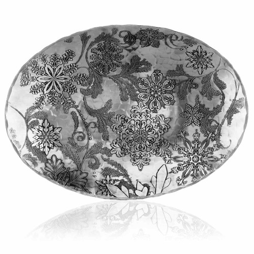 Wintersong Large Oval Dish