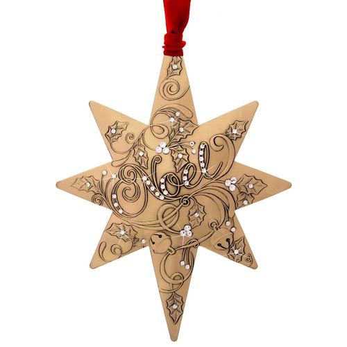 Noel Centennial Star with Swarovski Crystals, collectible, limited edition, christmas, ornament, Swarovski