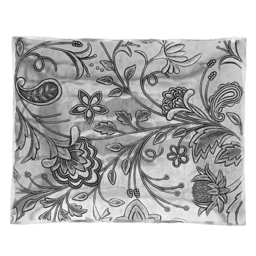 Floral and vine pattern engraved accessory tray