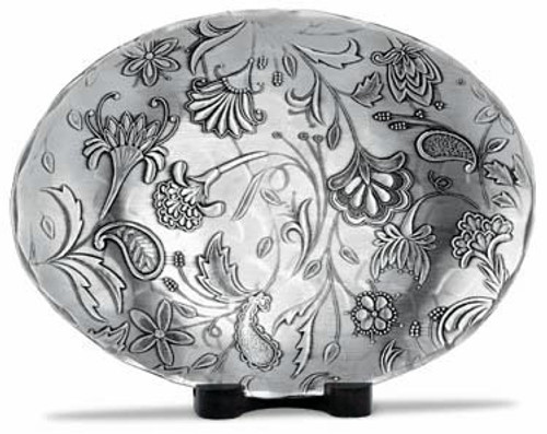 Tracery Small Oval Dish