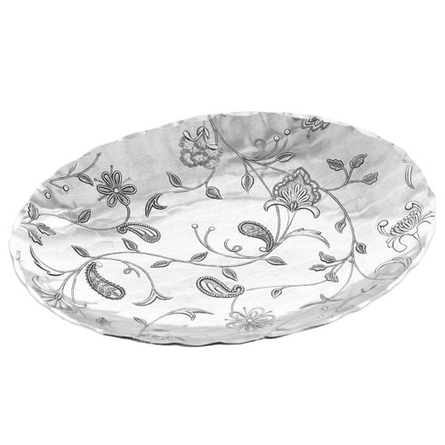 Tracery Metal Accent Bowl