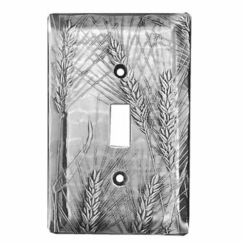 Designer Single Switch Plate Cover Made in America Wendell August