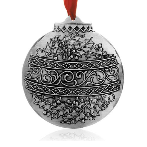 Holly Circle Keepsake Christmas Ornament