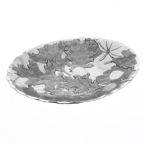 Autumn Inspired Metal Accent Bowl