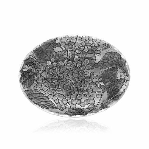 Hydrangea Small Oval Dish