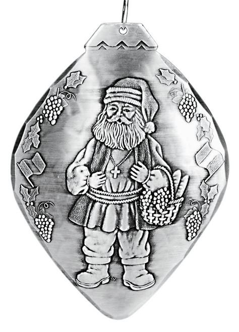 Italy Santa Collectible Christmas Ornament