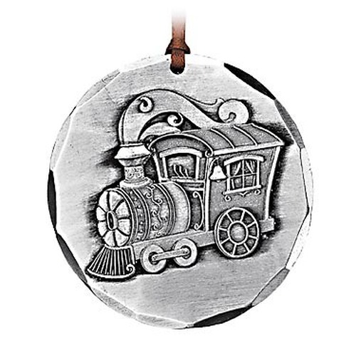 Toy Train Keepsake Metal Christmas Ornament