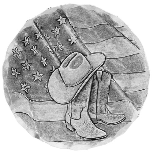 Rodeo Boots and Hat Coaster