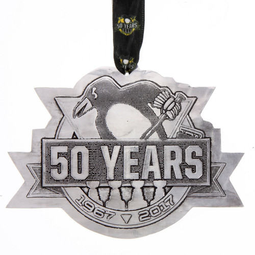 Pittsburgh Penguins 50th Anniversary Collector's Ornament