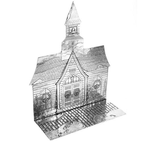 The Magic Christmas Village Church