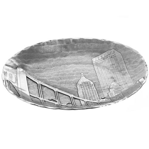 Andy Warhol Bridge Medium Oval Dish