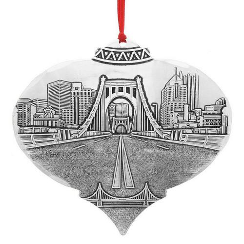 Clemente Bridge from the North Shore Ornament