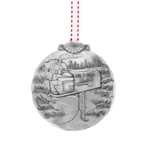 Letter to Santa Christmas Ornament