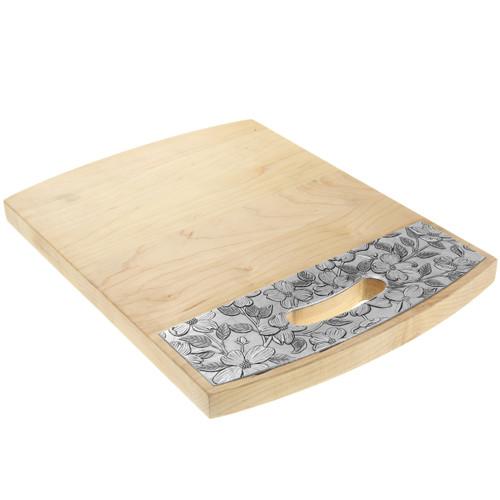 "Dogwood 9"" x 12"" Maple Warther Cutting Board"