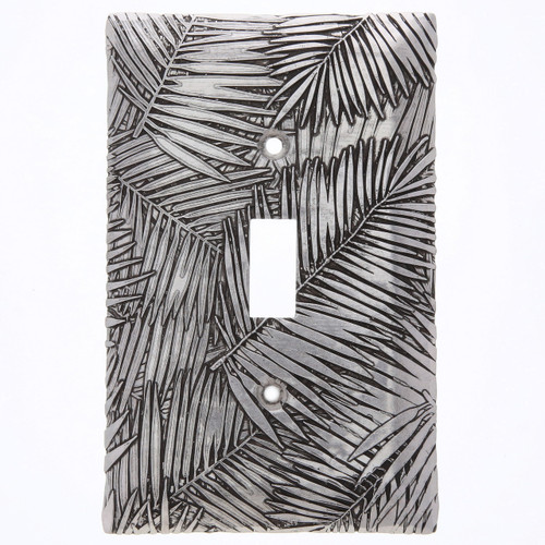 Tropical Breeze Single Switch Plate Cover (Aluminum)