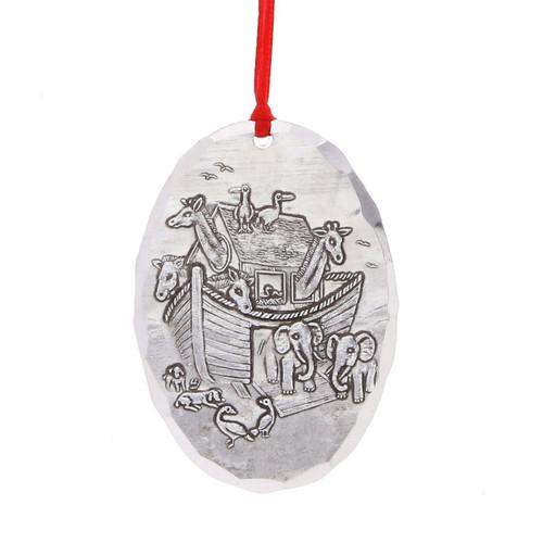 Noahs Ark Baby Keepsake Christmas Ornament