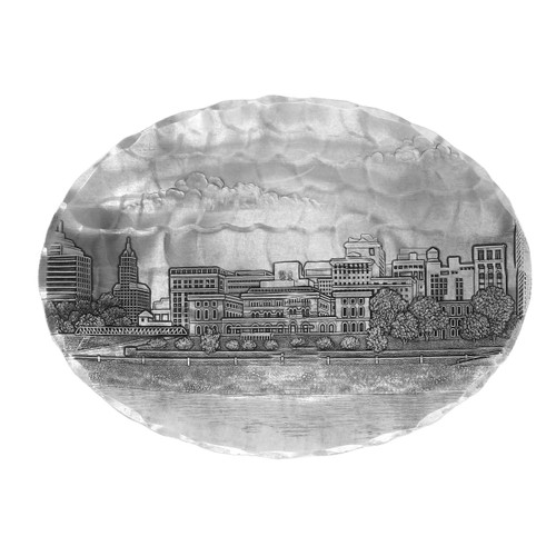 Memphis Skyline Small Oval Dish