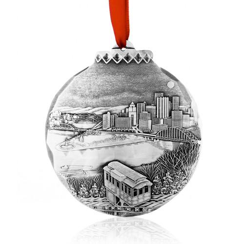 My Hometown Pittsburgh by Linda Barnicott, Aluminum
