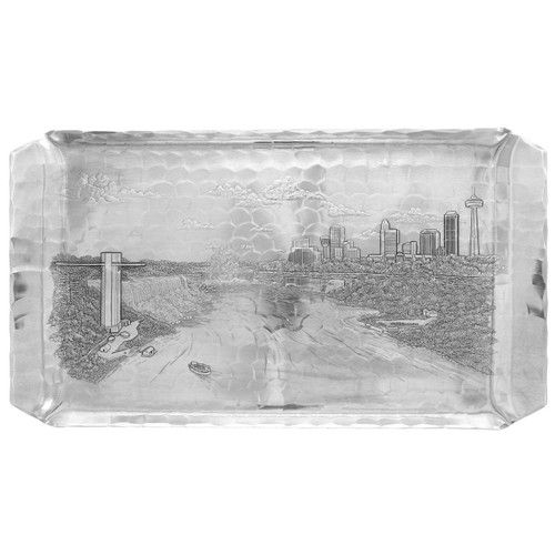 Handmade Niagara Falls Gift Tray Made in USA  by Wendell August