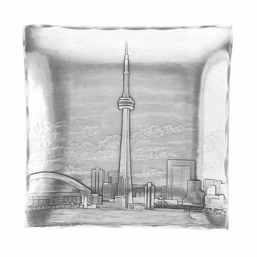 Handmade Toronto Engraved Gift Made in USA by Wendell August