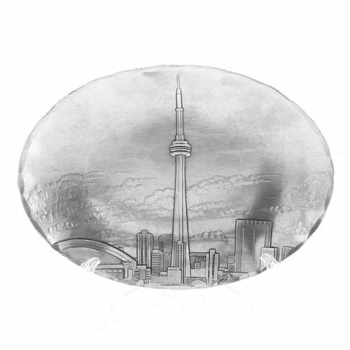 Toronto Skyline Small Oval Dish
