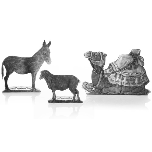 Nativity Animal Set - Donkey, Sheep and Camel
