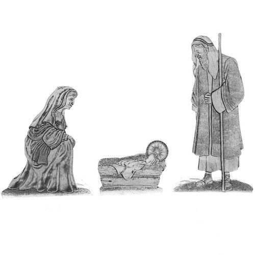 Nativity 3 Piece Set
