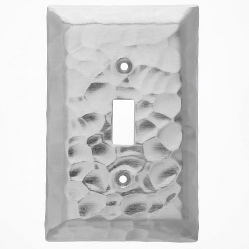 Waterfall Single Switch Plate Cover (Aluminum)