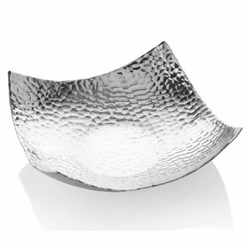 Waterfall Decorative Metal Centerpiece Bowl