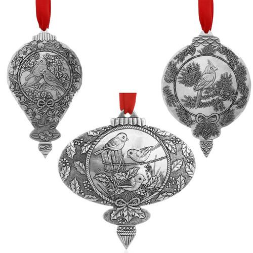 Songbird 3-Piece Ornament Set