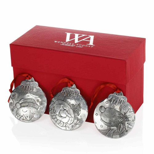 Winter Dreams Christmas Ornament Gift Set