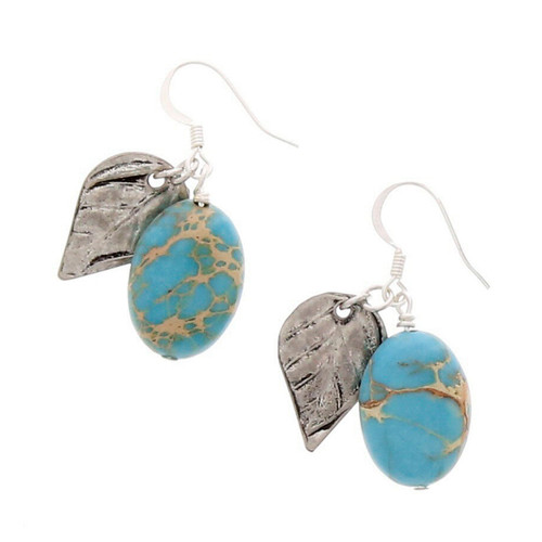 Terra Leaf Earrings