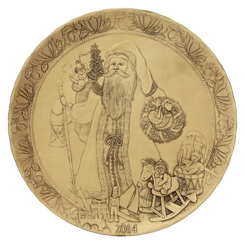2014 Annual Decorative Plate - The Generous Life of St. Nicholas
