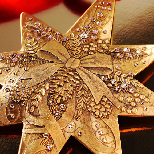 2017 Bronze Centennial Star Close Up
