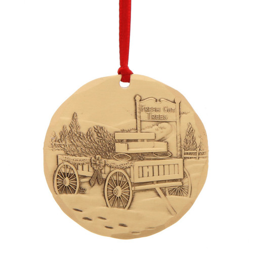 2017 Annual Ornament The Perfect Pine - Bronze