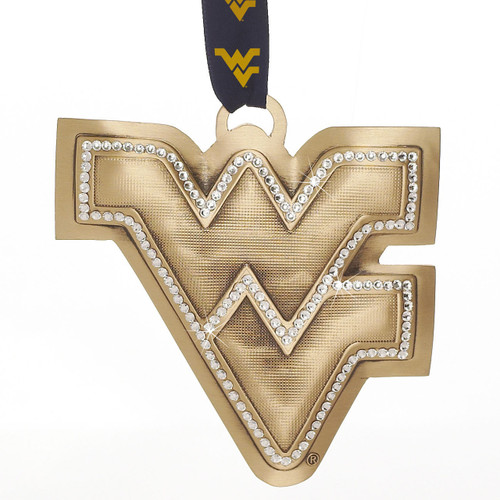 WVU Anniversary Limited Edition Ornament